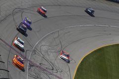 NASCAR: Juni 30 Overton ` s 300 Royaltyfria Foton
