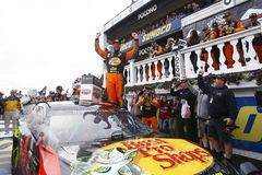 NASCAR: Juni 03 Pocono 400 Royaltyfria Bilder