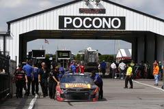 NASCAR: Juni 01 Pocono 400 Fotografering för Bildbyråer