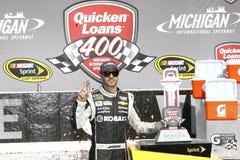 NASCAR: Juni 15 skyndar på lån 400 Arkivbilder