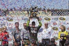 NASCAR: Juni 22 Toyota - räddningmarknad 350 Arkivfoto