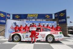 NASCAR: Juni 24 Toyota/räddningmarknad 350 Royaltyfri Fotografi