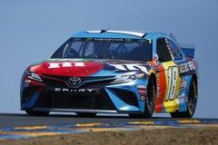 NASCAR: Am 21. Juni TOYOTA-/SAVEhandelszentrum 350 lizenzfreies stockbild