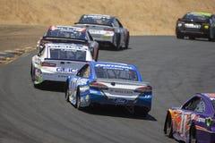 NASCAR: 24 juni Toyota/sparen Markt 350 Royalty-vrije Stock Afbeelding