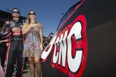 NASCAR: 24 juni Toyota/sparen Markt 350 Royalty-vrije Stock Foto's