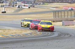 NASCAR: 24 juni Toyota/sparen Markt 350 Stock Afbeeldingen