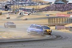 NASCAR: 24 juni Toyota/sparen Markt 350 Royalty-vrije Stock Fotografie