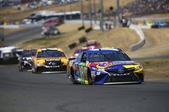 NASCAR: 25 juni Toyota/sparen Markt 350 Stock Afbeelding