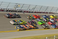 NASCAR : Jus 500 d'énergie du 31 octobre ampère Images libres de droits