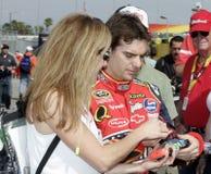 NASCAR Kampioen Jeff Gordon royalty-vrije stock afbeelding