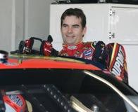 NASCAR Kampioen Jeff Gordon stock foto