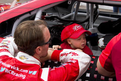 NASCAR Kevin Harvick bij het Internationale Toevoerkanaal van Phoenix Royalty-vrije Stock Fotografie