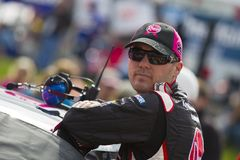 NASCAR: Kevin Harvick at his car Stock Photography