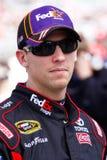 NASCAR Kierowca Denny Hamliin Zdjęcia Stock