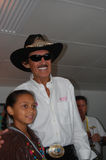 Nascar The King Richard Petty Royalty Free Stock Image