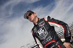 NASCAR: Kurt Busch Fotos de Stock Royalty Free