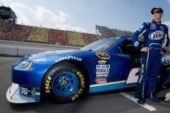 NASCAR:  Kurt Busch Aug 14 Carfax 400 Royalty Free Stock Photography