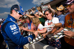 NASCAR:  Kurt Busch Aug 14 Carfax 400 Royalty Free Stock Photo