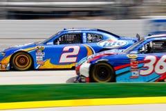 NASCAR Kurt Busch tiene all'esterno! Fotografia Stock