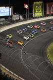 NASCAR - Kurve 3 unter Achtung   Stockbild