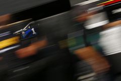NASCAR: Kwietnia 13 jedzenia miasto 500 Zdjęcia Royalty Free