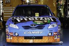 NASCAR - Kyle Busch #18 all stjärna Camry Fotografering för Bildbyråer