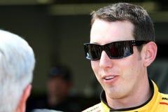 NASCAR - Kyle Busch et ventilateurs Photo libre de droits