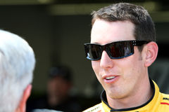 NASCAR - Kyle Busch and fans Royalty Free Stock Photo