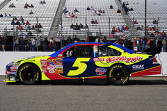 NASCAR - Kyle Busch's #5 Car. Kyle Busch's #5 Kelloggs Car of Tomorrow waits on pit road for the start of the first race of the 2007 Chase for the NASCAR Nextel Stock Photo