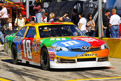 NASCAR - Kyle Busch's M&Ms Toyota Camry Stock Photography