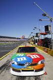 NASCAR - Kyle Busch's M&Ms Toyota Camry Portrait. NASCAR star and infamous hothead Kyle Busch's #18 M&Ms Sprint Cup car on pit road before the start of the 2011 Stock Photo