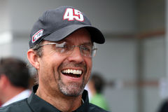 NASCAR - Kyle Petty at LMS Royalty Free Stock Photography