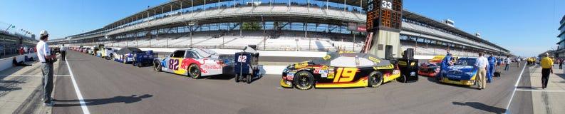 NASCAR: Ladrillar 400 del 24 de julio Imagen de archivo