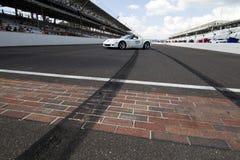 NASCAR: Ladrillar 400 del 25 de julio Imagen de archivo libre de regalías