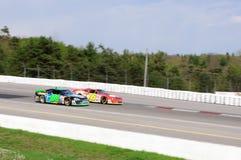 NASCAR laufendes Auto stockfotos