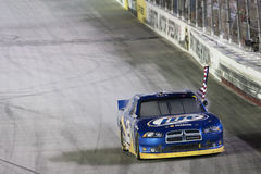 NASCAR : Le 27 août Irwin usine le chemin de nuit Photographie stock libre de droits