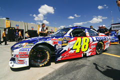 NASCAR - Le #48 de Johnson à Charlotte Photographie stock