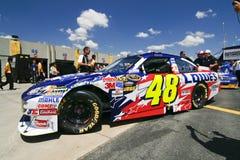 NASCAR - Le #48 de Johnson à Charlotte Photographie stock