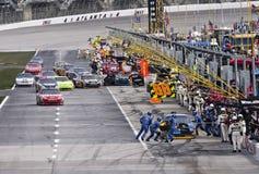 NASCAR : Le 7 mars Kobalt usine 500 Images libres de droits
