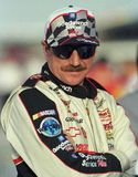 NASCAR Legend Dale Earnhardt stock photography