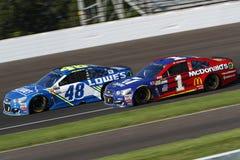 NASCAR: Lipa 23 Brantley Gilbert Duży Maszynowy Brickyard 400 Zdjęcie Stock