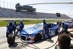 NASCAR: Lipa 01 Overton ` s 400 Fotografia Royalty Free