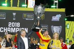 NASCAR: Listopad 18 Ford 400 zdjęcia royalty free