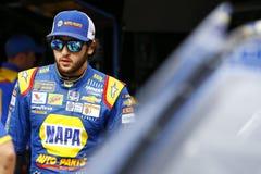 NASCAR: Lopp för Augusti 18 Bass Pro Shops NRA-natt Arkivbilder