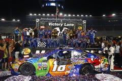 NASCAR: Lopp för Augusti 19 Bass Pro Shops NRA-natt Royaltyfria Bilder