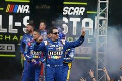 NASCAR: Lopp för Maj 20 gigantiskt energi NASCAR All Star Royaltyfri Bild