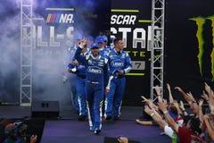 NASCAR: Lopp för Maj 20 gigantiskt energi NASCAR All Star Royaltyfria Foton