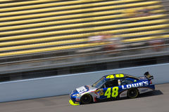NASCAR:  Lowe's Chevrolet Aug 14 Carfax 400 Stock Photos
