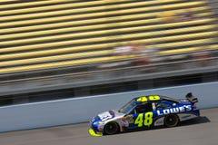 NASCAR:  Lowe's Chevrolet Aug 14 Carfax 400 Stock Photos