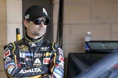 NASCAR: Am 21. März Auto-Club 400 Lizenzfreies Stockbild